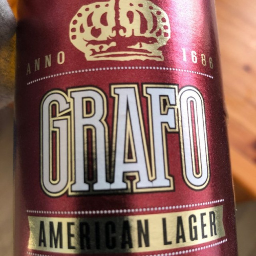 "Local Beer light ""GRAFO""5.2% 500ml"