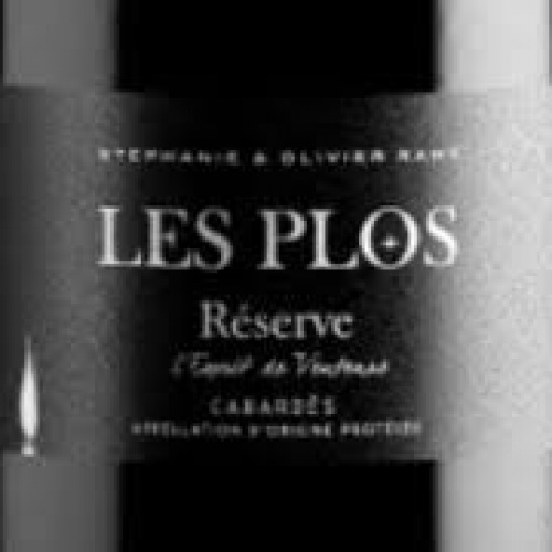 Les Plos Reserve red, dry wine 100ml