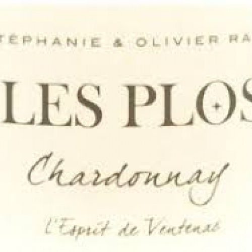 Les Plos Chardonnay dry white wine 100ml (France)