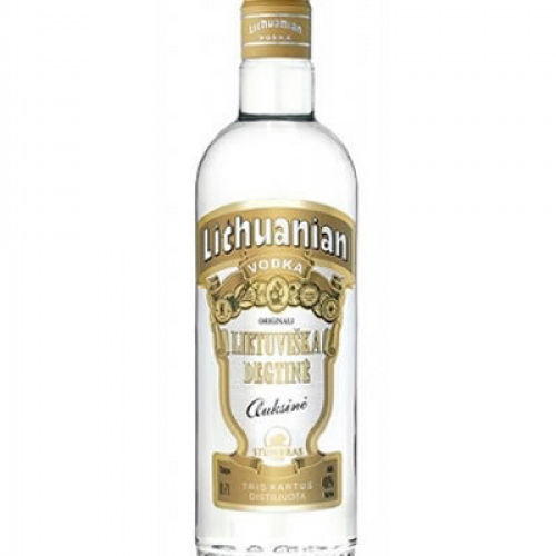 "Vodka ""Lithuanian"" 40ml"