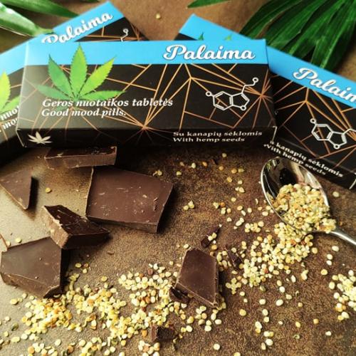 Šokoladinės tabletės Palaima