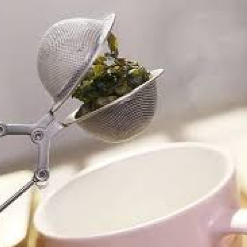 Green steaming tea