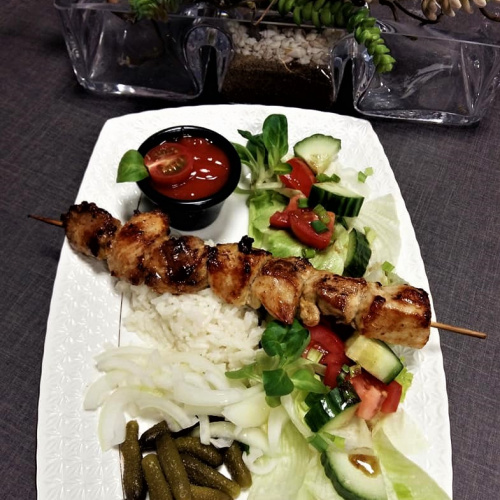 "BBQ roast ""Shashlik"""